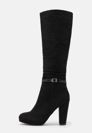 DEENA PLATFORM - High Heel Stiefel - black