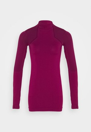Long sleeved top - power berry/purple