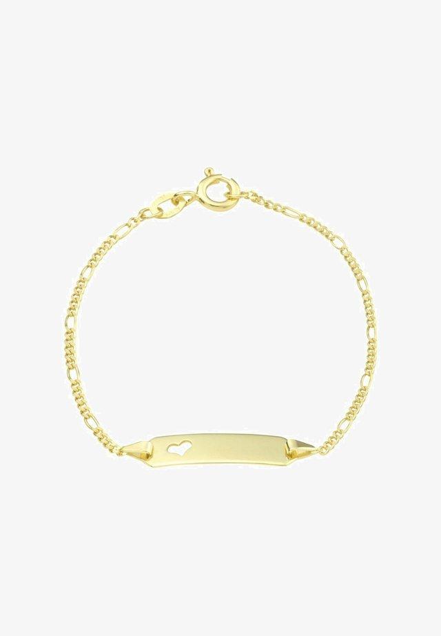 MIT HERZ  - Bracelet - gold