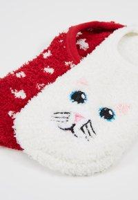Wild Feet - CAT COSY FOOTSIE SOCKS 2 PACK - Calzini - multi - 2