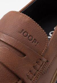 JOOP! - KLEITOS LOAFER - Eleganckie buty - cognac - 5