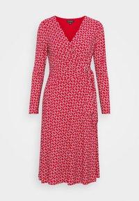 Lauren Ralph Lauren - PRINTED MATTE DRESS - Jerseyklänning - orient red - 5