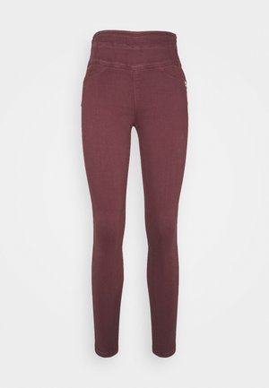 HIGH WAIST SHAPE - Skinny džíny - violet swan