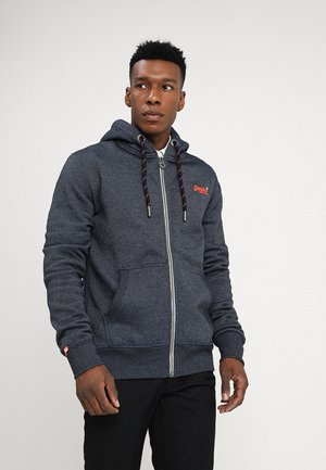 ORANGE LABEL ZIPHOOD - Zip-up hoodie - abyss navy