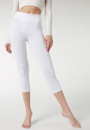 Leggings - Stockings - bianco