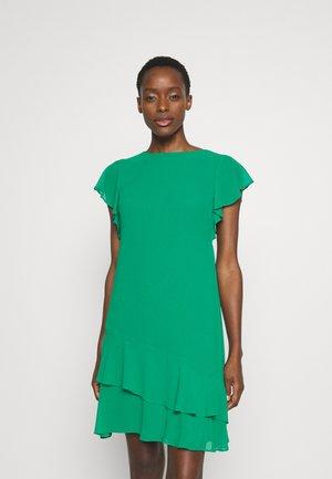 CLASSIC SOLID DRESS - Korte jurk - malachite
