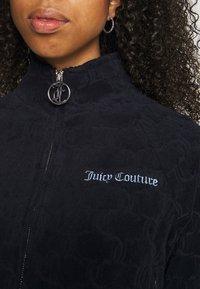 Juicy Couture - TOWEL TANYA TRACK - Zip-up sweatshirt - night sky - 8