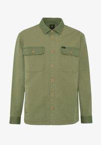 Lee - OVERSHIRT - Shirt - utility green - 4
