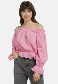 myMo - BLUSE - Blouse - pink - 0