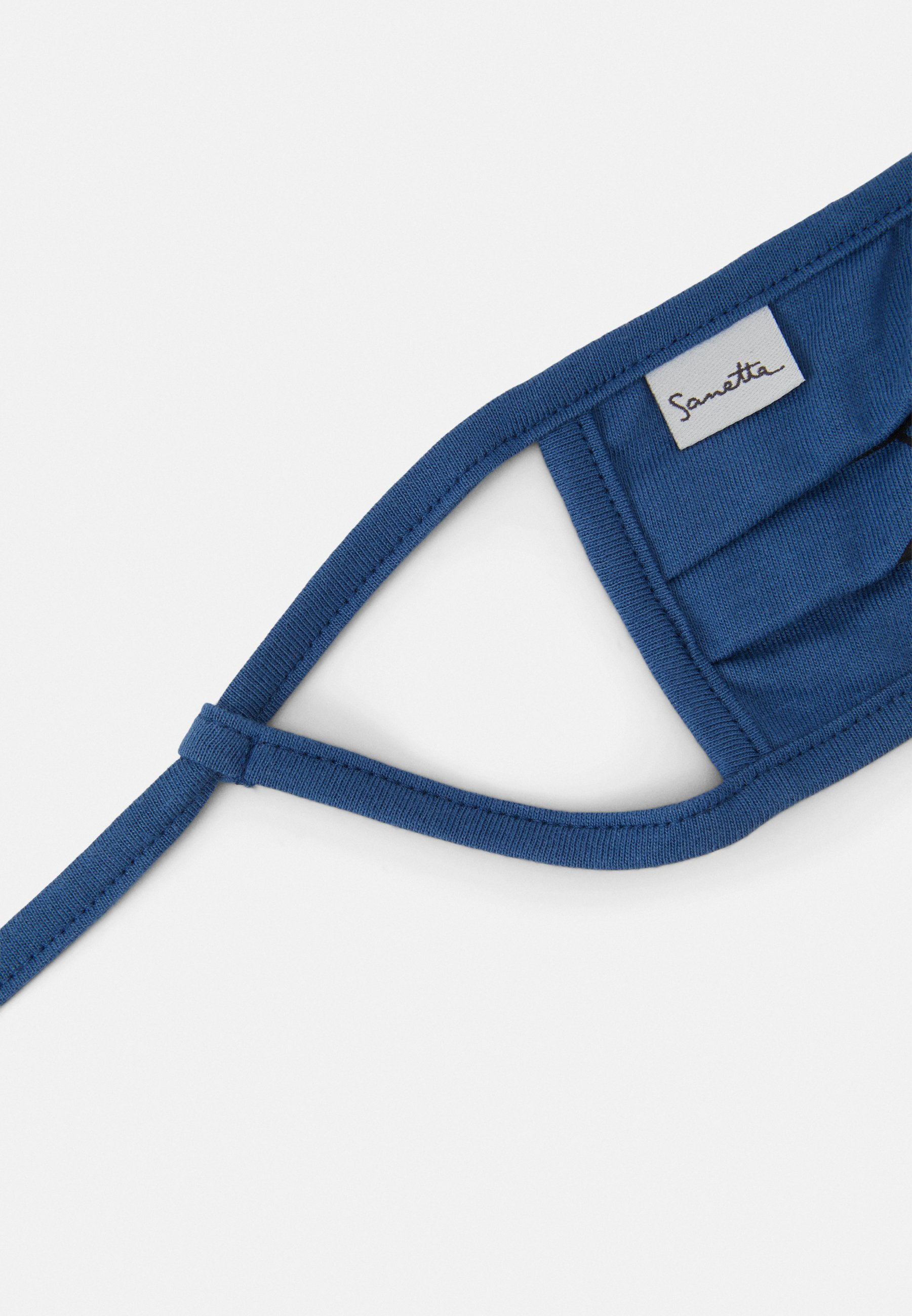 Sanetta FACEMASK 2 PACK - Munnbind i tøy - dark blue/mørkeblå 9uSIZaY0HfIvI9W