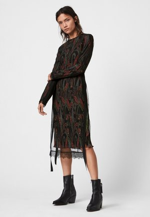 KIARA OSSIA DRESS - Day dress - black