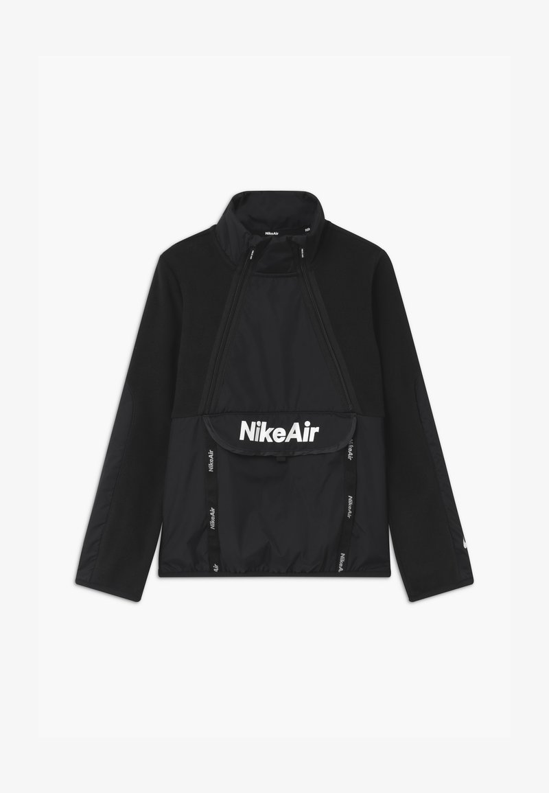 Nike Sportswear - REFLECTIVE AIR - Fleece jumper - black