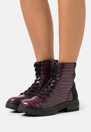 ALEXIA - Platform-nilkkurit - dark purple