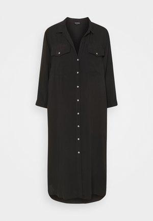 UNTILITY DRESS - Maxi dress - black