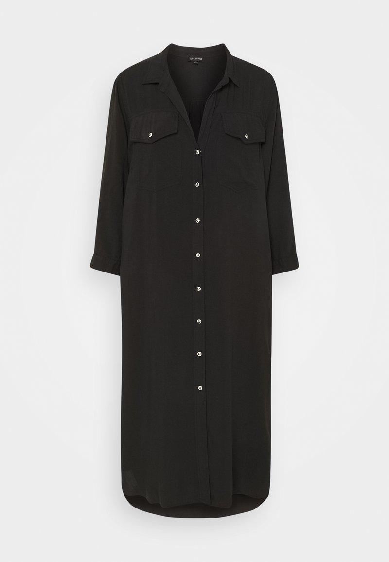 True Religion - UNTILITY DRESS - Maxi dress - black