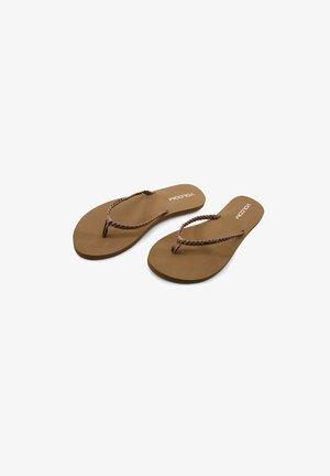 WEEKENDER SNDL - T-bar sandals - brown