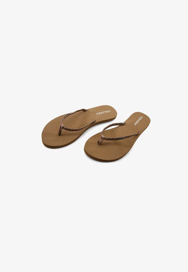 WEEKENDER SNDL - Tongs - brown