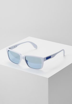 Sunglasses - white/blue