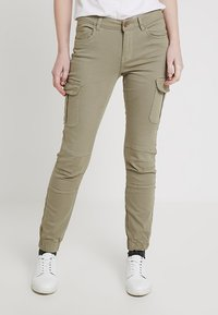 ONLY - Pantalones cargo - oil green - 0