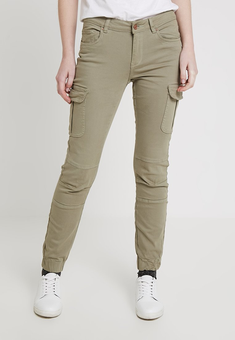 ONLY - Pantalones cargo - oil green