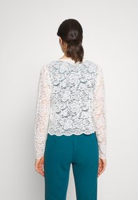 Vila - VIFAITH BOLERO - Cardigan - snow white - 2