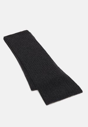 SCARF - Šála - dark grey melange
