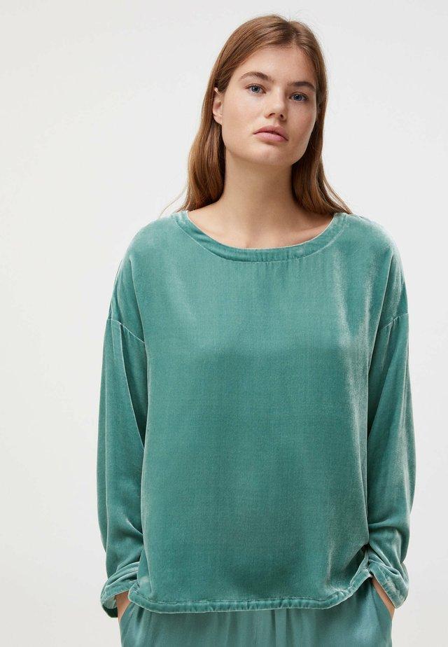 Pyjamashirt - turquoise