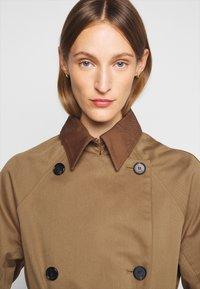 Victoria Victoria Beckham - TIE SLEEVE - Trench - fawn brown - 5