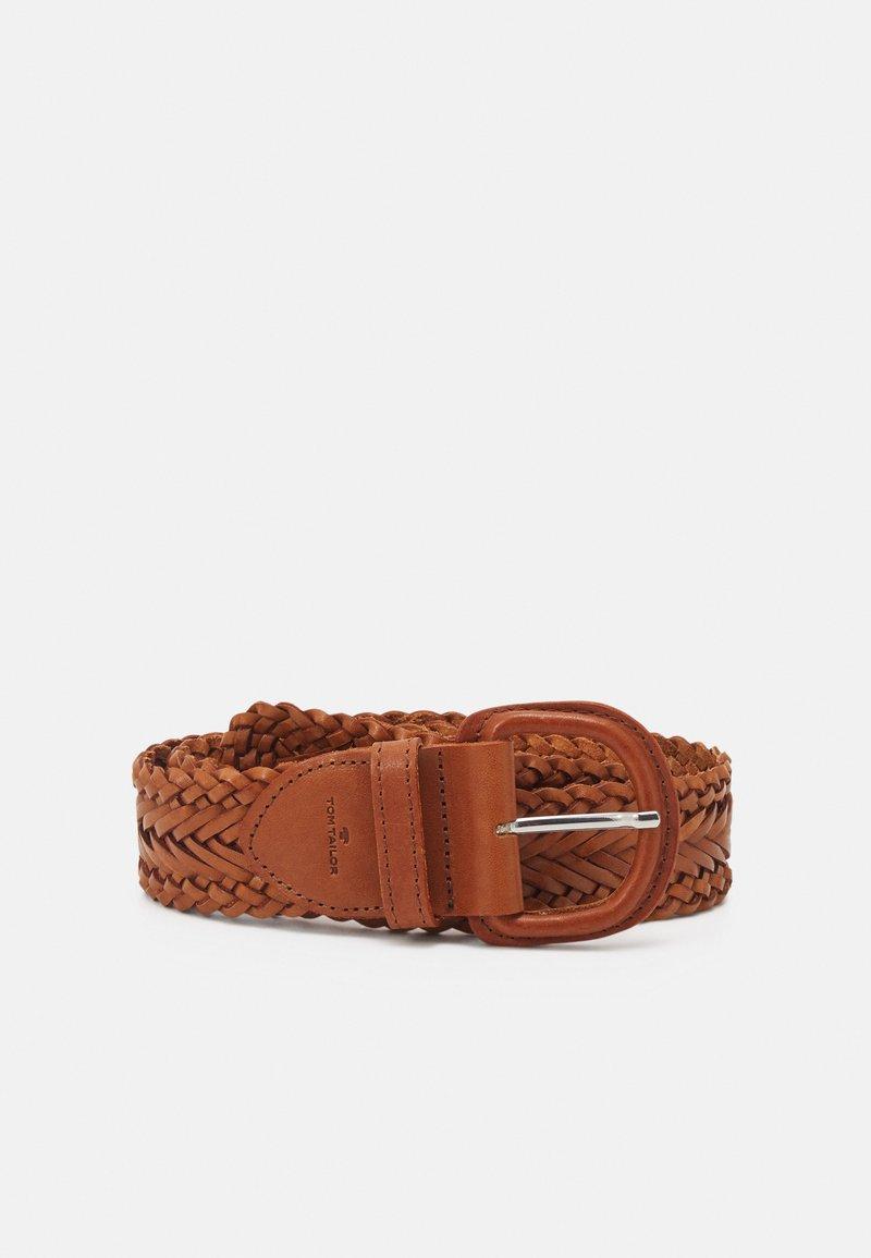 TOM TAILOR - ELLEN - Belt - light brown