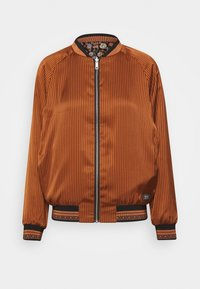 Scotch & Soda - PRINTED REVERSIBLE BOMBER JACKET - Bomberjacks - blue - 1