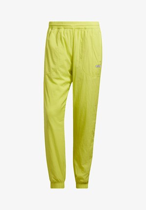 TRACKSUIT BOTTOMS - Spodnie treningowe - yellow