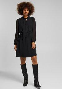 Esprit - FASHION - Day dress - black - 3