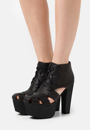FORD - Lace-up ankle boots - black