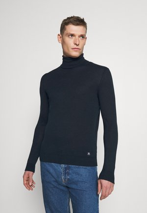 BASIC ROLLNECK - Jumper - sky captain blue