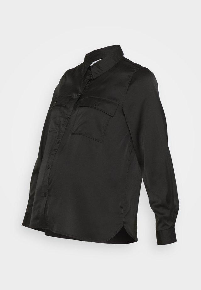 PCMDAYTON  - Button-down blouse - black