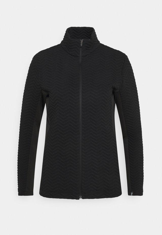 LADIES - Fleecová bunda - black