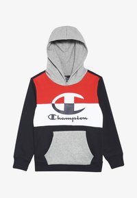Champion - COLOR HOODED  - Bluza z kapturem - dark blue/red - 3