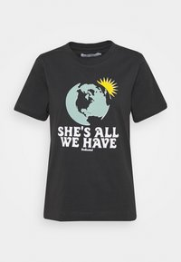 MYSEN ALL WE HAVE - Print T-shirt - forged iron