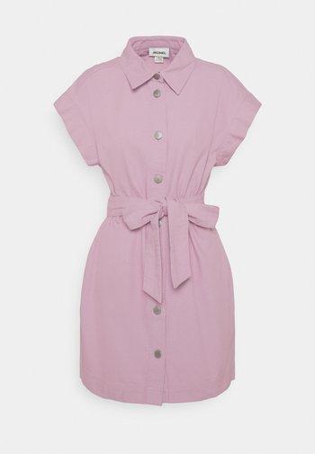 LINN DRESS - Shirt dress - lilac purple dusty light