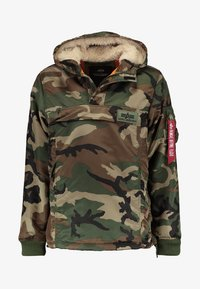 Alpha Industries - ANORAK - Light jacket - woodland - 6
