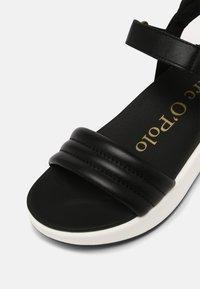 Marc O'Polo - SPORTY - Platform sandals - black - 5