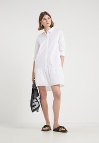 Bruuns Bazaar - ROSA ALLIA DRESS - Shirt dress - white - 1