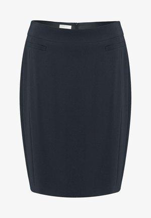 Pencil skirt - marine