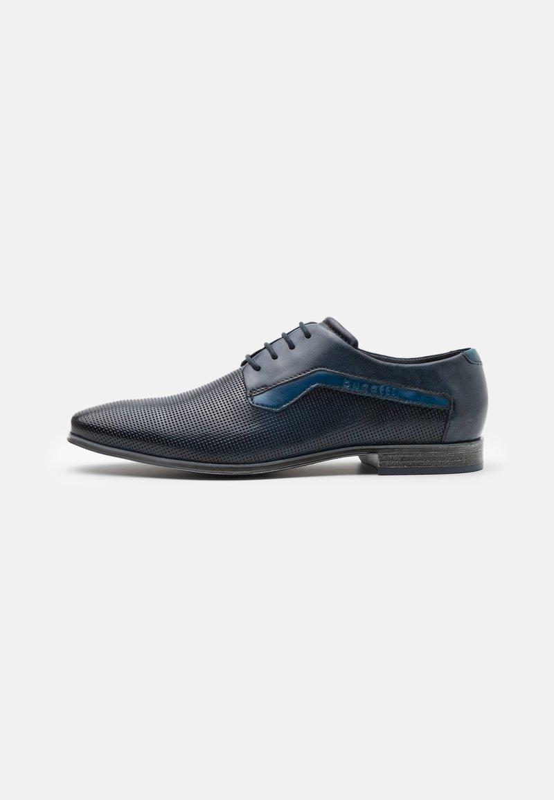 Bugatti - MORINO - Snörskor - dark blue/light blue