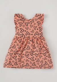 DeFacto - Day dress - orange - 1