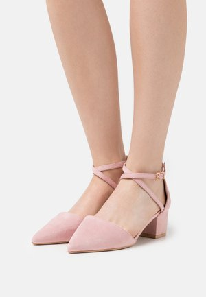 WIDE FIT AVIA - Klassiske pumps - pink