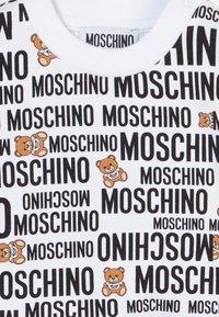 MOSCHINO - Mikina - optic white - 3
