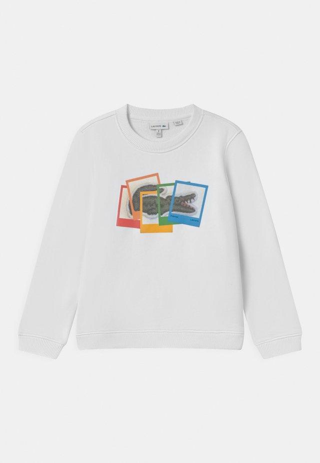 POLAROID UNISEX - Sweatshirt - white