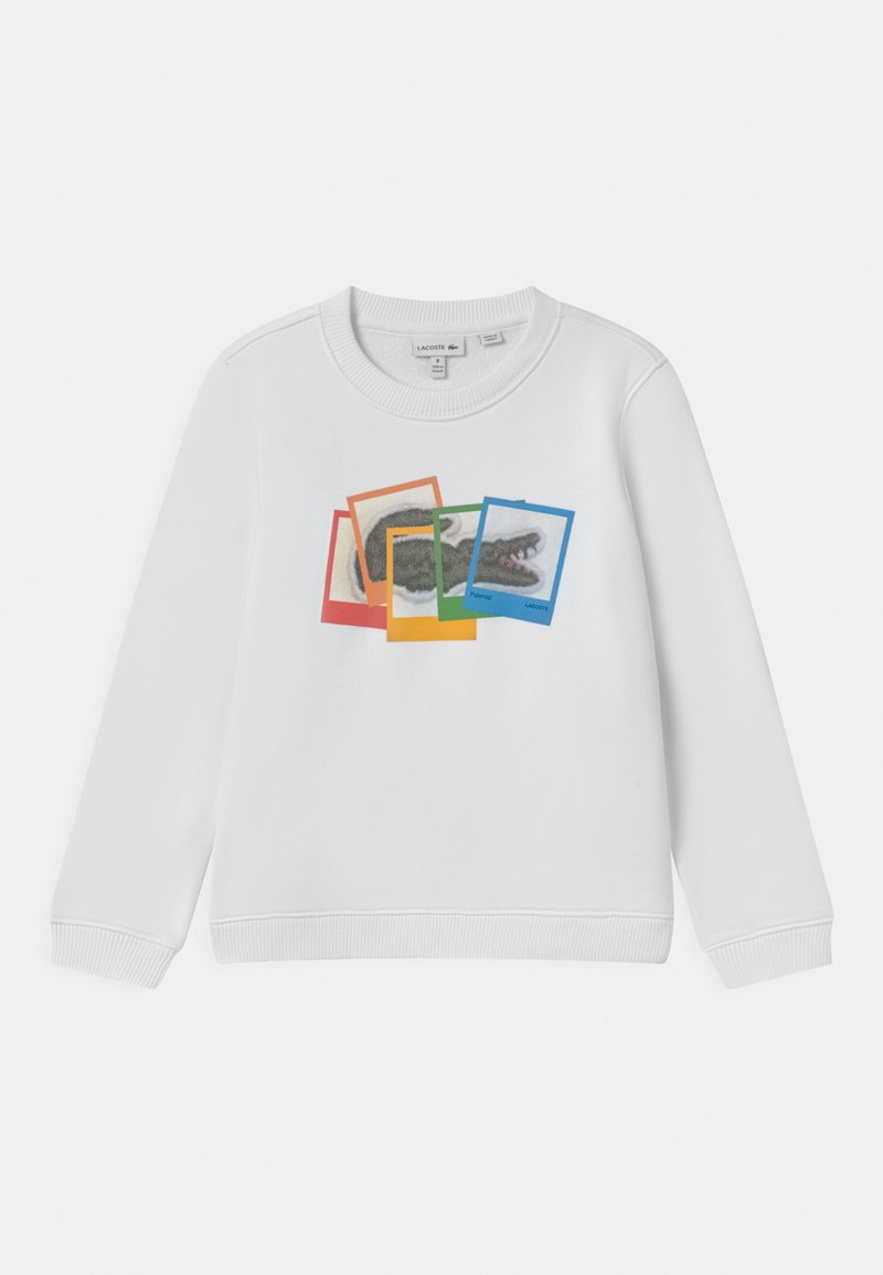 Lacoste - POLAROID UNISEX - Sweatshirts - white