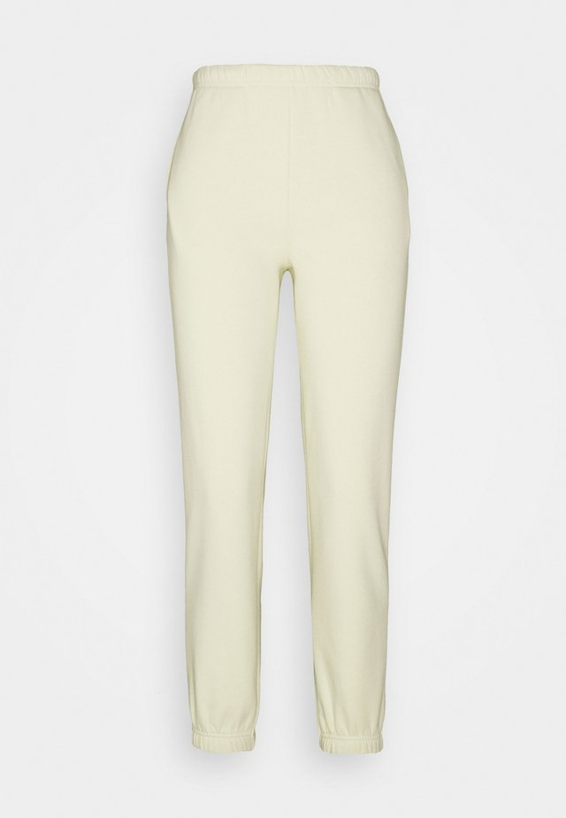 BASIC - Teplákové kalhoty - aloe wash